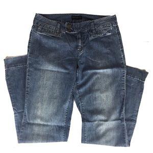 BANANA REPUBLIC Light Wash Wide Leg Jeans